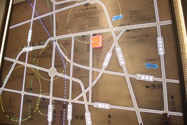 这地铁新盘4站就达天河 均价不足2万/平户户朝南