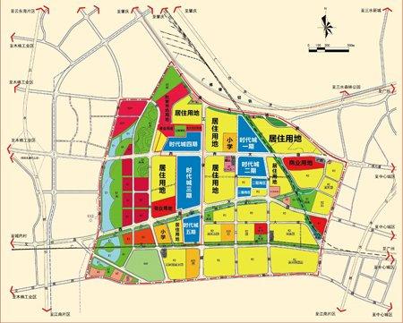 大沥行政区域地图