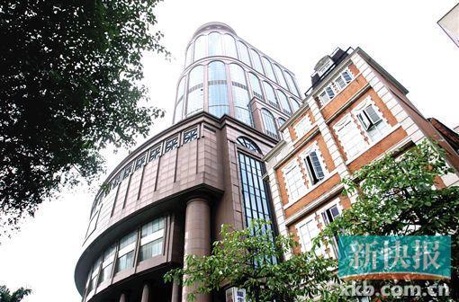 ■新中国大厦是广州著名烂尾楼.
