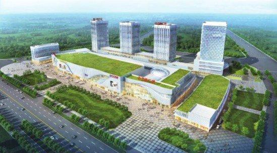 广州增城万达广场西北角鸟瞰-万达中国行圆满结束 盛赞万达发展视野