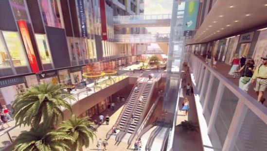 万科派开放式邻里中心 全新休闲式购物体验图片