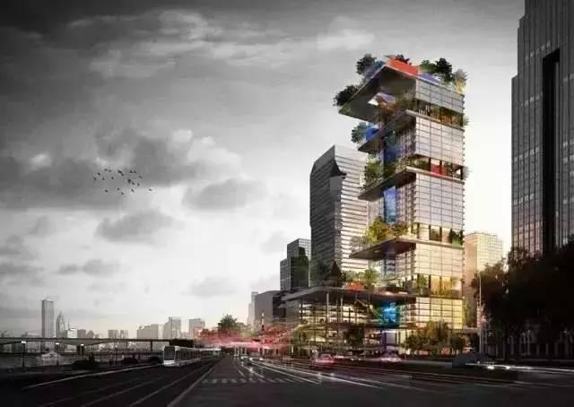 上帝视角看琶洲CBD 腾讯阿里小米广州总部终亮相!