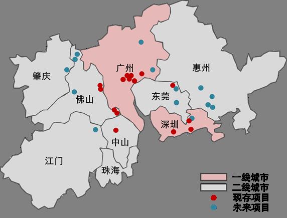 惠州地图区域划分