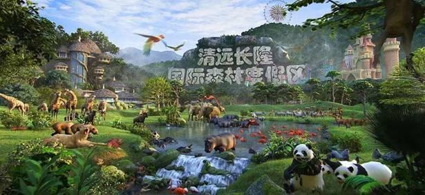 恒大别墅生态城世纪大城清远!一座架空层面积图片