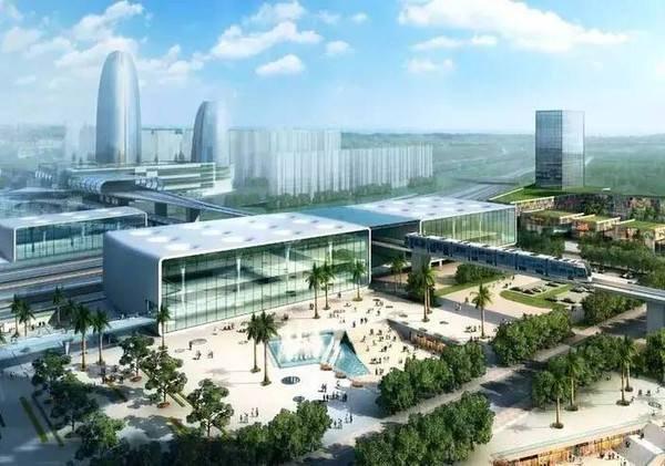 新塘再添总部经济 未来200米超高建筑成群