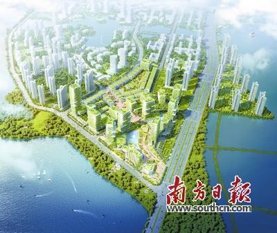 碧桂园创新小镇亮相惠州潼湖
