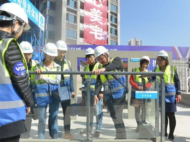 和您的爱家见个面 | 碧桂园深荟城首届工地开放日正式启幕!