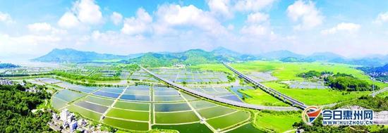 惠州将建设成珠三角连接粤东及闽赣门户城市