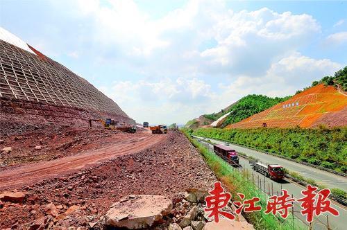 惠城仲恺新建和改造4条连接道路