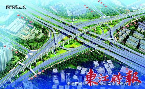 仲恺大道改造预计明年底全线完工