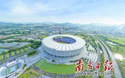 惠州在奥林匹克体育场新建市级应急避护场所