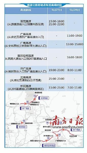 惠州交警发布端午出游避堵攻略