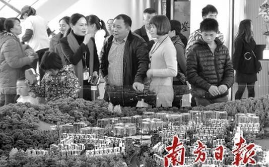 广州楼市成交回复节前正常水平