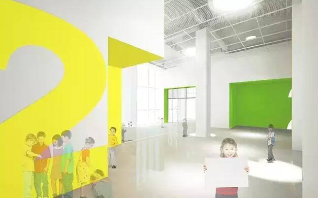 幼儿园(效果图) 绿色科技 世合团队将绿色环保科技运用于方方面面,学校采用地源热泵技术,令教室冬暖夏凉;雨水回收系统则把绿色屋顶流下来的雨水进行收集、净化,用以浇灌绿植,这一可视系统使得小朋友们可以看到整个净化过程。 在建造过程中,学校充分运用多种再生系统和环保建筑材料,并积极创建美国绿色建筑LEED-School金级认证和中国绿色建筑三星级认证。可喜的是,目前世合双语学校已经通过中国绿色建筑三星级认证,这也是中国建筑界最高级别的认证。 人文设计 为了让孩子们拥有更舒适的环境,世合团队在设计及创意方面也