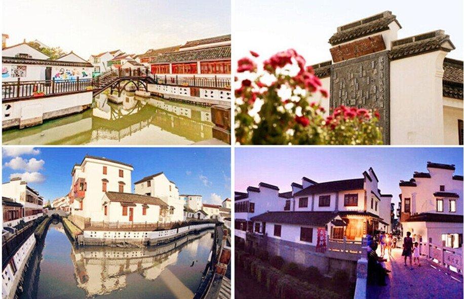 金山嘴渔村是上海最后的渔村,游客可以在此尽情吹海风、品海鲜、赏大海,住渔家客栈
