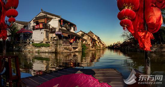 水乡年味哪里寻?就在沪郊特色小镇金山枫泾