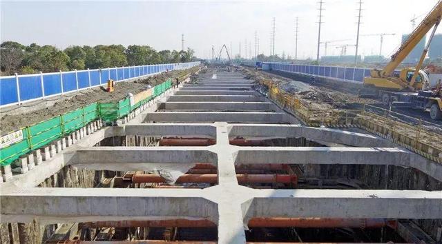 松江新城地下综合管廊主体结构完成30% 预计年内建成
