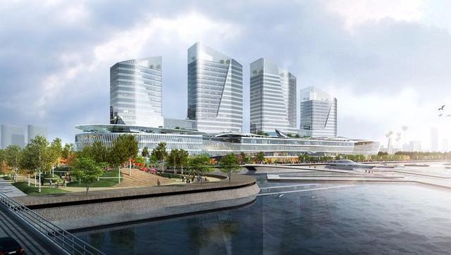 宝山滨江将新建24万平方米城市综合体