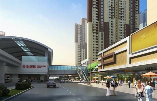 中信泰富又一城:嘉定新城核心区域 周边配套较齐全