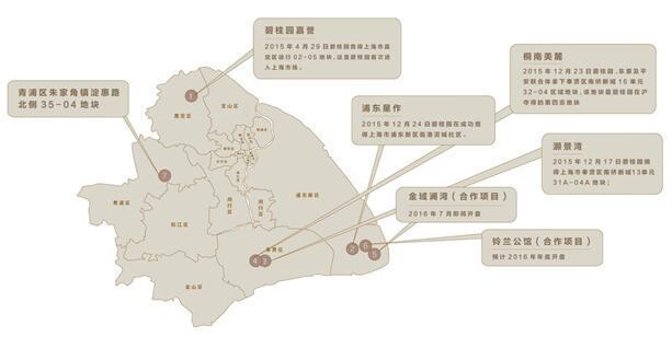 【碧桂园集团上海区域:1年7城】