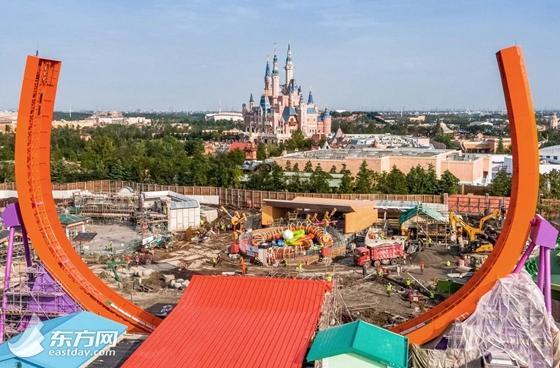 """上海""""迪士尼玩具总动园""""主题园区开幕时间确定"""