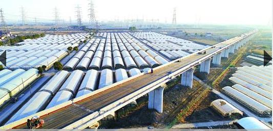 沪通铁路一期嘉定境内17.74公里正线年底前通车