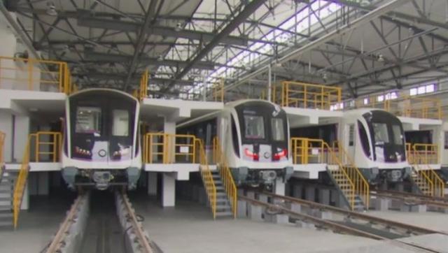轨交5号线南延伸段年内实现通车试运营