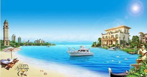 恒大海上威尼斯,相约家门口的蔚蓝海岸