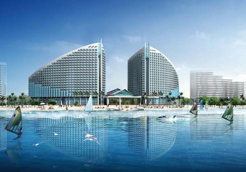 棕榈滩海景城:8万首付精装房 刚需置业配套全