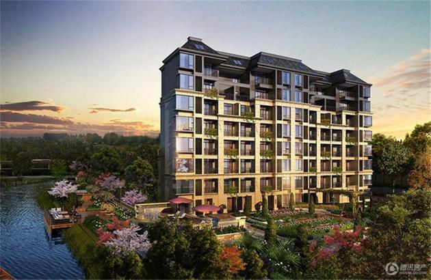建发玖珑湾:9号线高档轨交房 打造高尔夫花果林社区