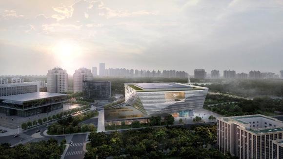 上图东馆将建成世界级图书馆 9月底开工2020年开馆