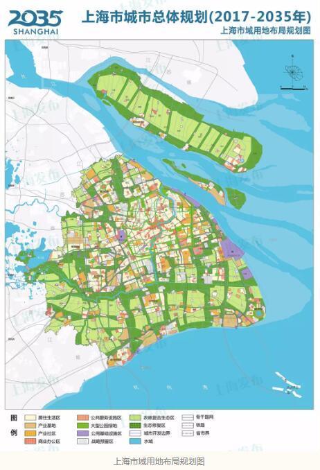 房地产评估--《上海市城市总体规划(2017-2035年)》正式发布