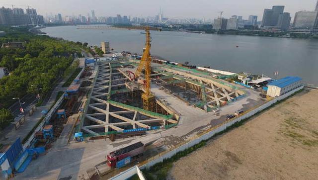 """中法联合声明位于徐汇的""""上海西岸""""被写入其中"""