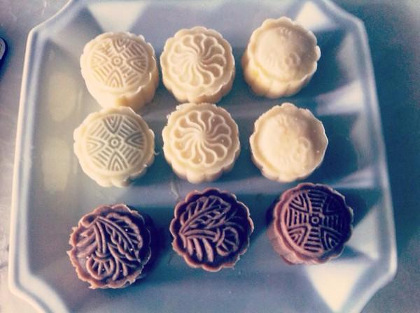 手工制作彩泥月饼