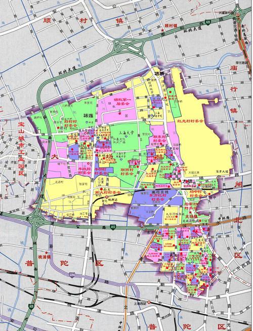 宝山大场板块房价或将破6万 年内5地块成交