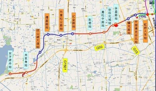 地铁17号线规划图