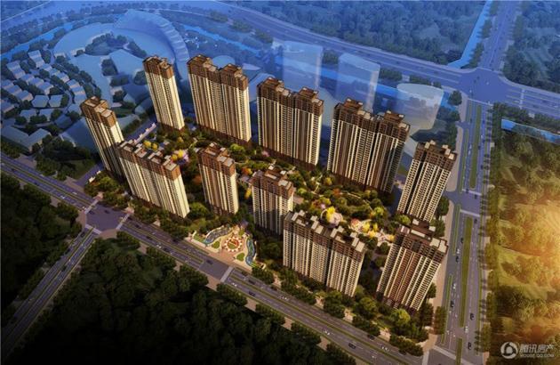 嘉宝梦之城:首付12万起学区房 楼栋间距最长115米