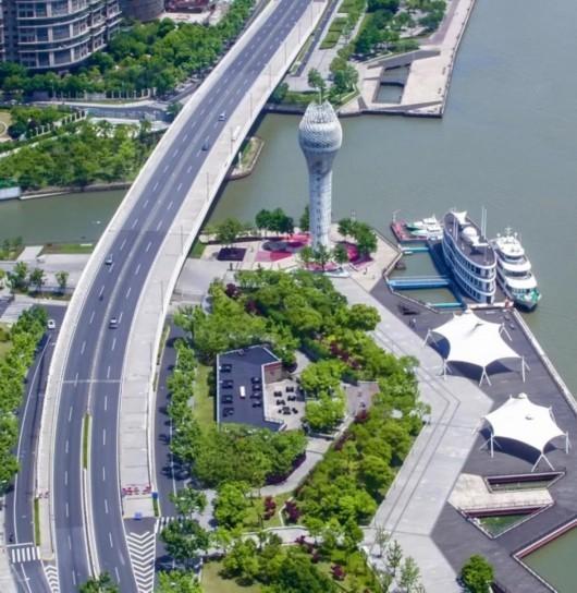 龙腾大道新建段正式通车 串起沿途众多文化场馆
