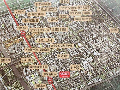 嘉定新城未来规划图图片