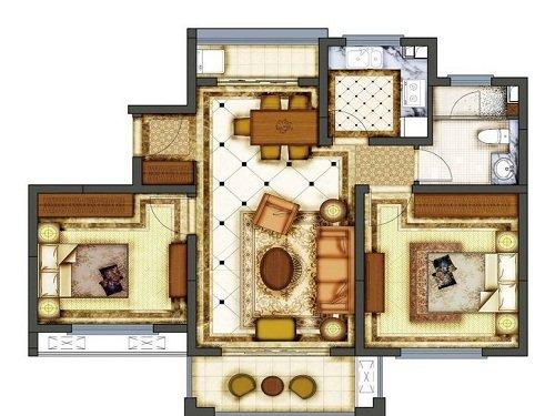 绿洲香格丽花园3房115万 11月推94平公寓