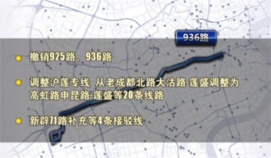 上海公布中运量公交运行路线 公交线网怎么调