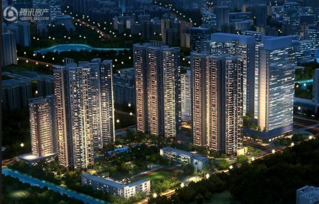 奥园峯荟在售建面约40-142㎡公寓 均价约2.3万/平