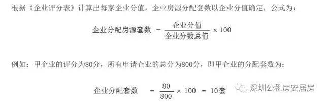 宝安区再企定配租100套公租房 租金每平13元/月