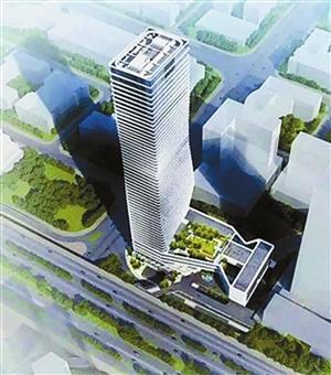 """深圳""""小扭腰""""明年底启用 建筑高达248.9米"""