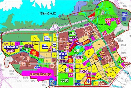 龙岗五联片区的六大旧改项目已开始集中入市