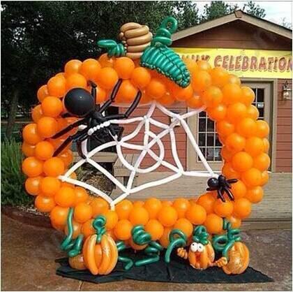 (创意气球南瓜)-幸福城邀您共度别样佳节 欢乐上演万圣节专场活动
