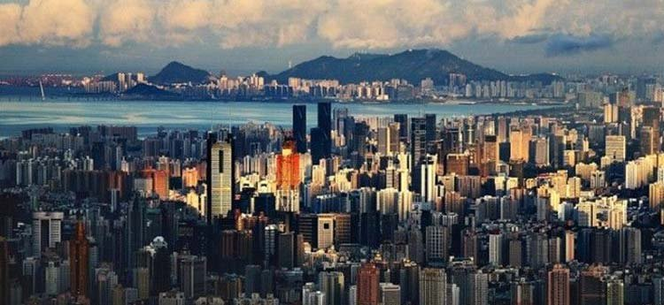 深圳 人口 密度是全国的40倍 6人 抢 1㎡是走还是
