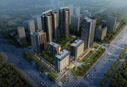 中信龙盛广场主推中小户型 预计3月开放营销处