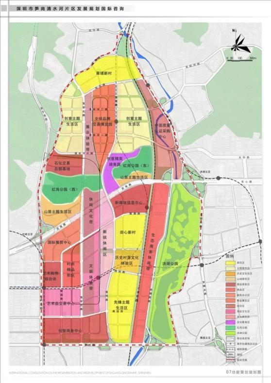 丰润动车城规划图