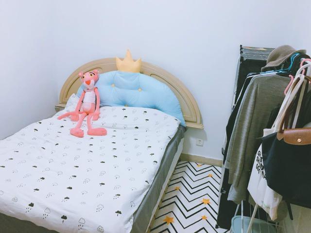 """90后美女花500元改造出租屋 瞬间变身""""暖暖的家"""""""